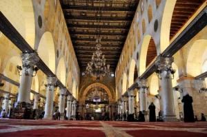 Mescidi Aksa İç Görünüm Dini İnanç Kanvas Tablo