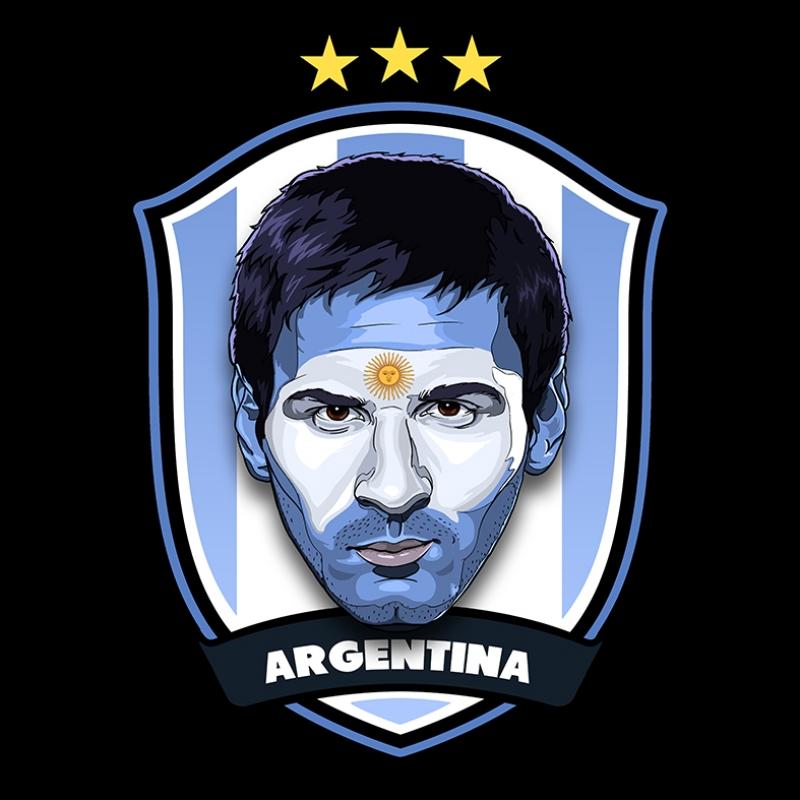Messi Arjantin Futbol Spor Kanvas Tablo