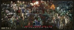 Metal Gear Solid Karakterleri Bebek & Çocuk Dünyası Kanvas Tablo