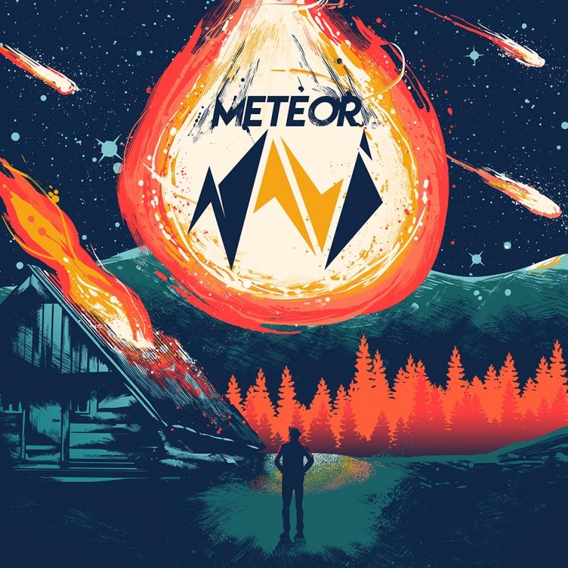Meteor Art Work Popüler Kültür Kanvas Tablo