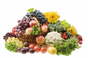 Meyve Sebzeler 2 Lezzetler Kanvas Tablo