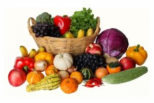 Meyve Sebzeler 4 Lezzetler Kanvas Tablo