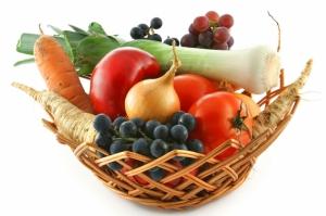 Meyve Sebzeler 5 Lezzetler Kanvas Tablo