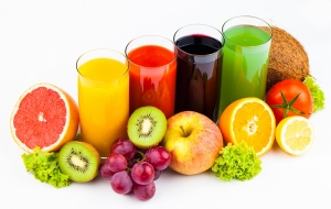 Meyve Suyu 3 Lezzetler Kanvas Tablo