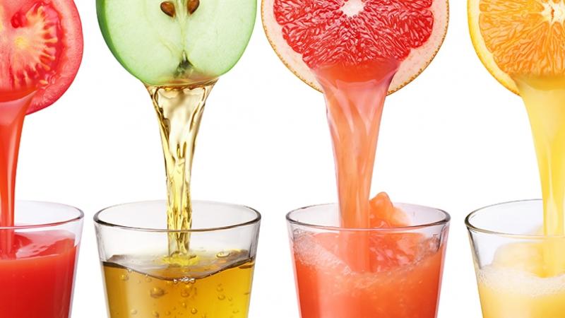 Meyve Suyu 4 Lezzetler Kanvas Tablo