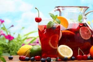 Meyve Suyu 5 Lezzetler Kanvas Tablo