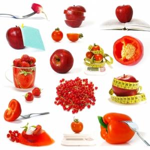 Meyve ve Kalori 2 Lezzetler Kanvas Tablo