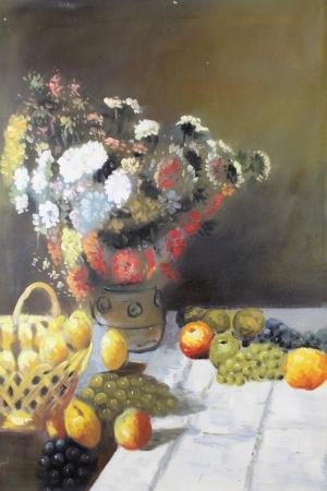 Meyveler ve Sebzeler 2, Çiçekler Dekoratif Kanvas Tablo