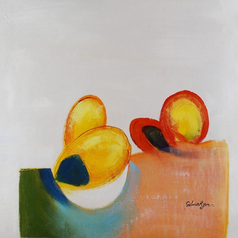 Meyveler ve Sebzeler 6, Tropik Meyveler Dekoratif Kanvas Tablo