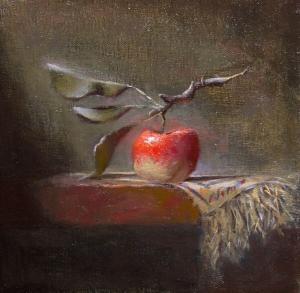 Meyveler ve Sebzeler 9, Elma Dekoratif Kanvas Tablo