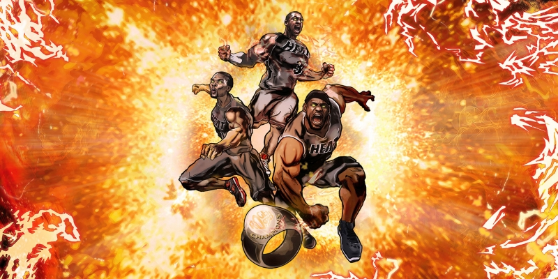 Miami Heat Nba Basketbol Kanvas Tablo