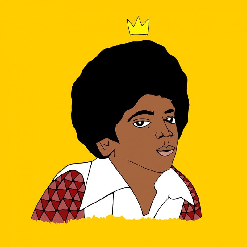 Michael Jackson İllustrasyon Çizim Popüler Kültür Kanvas Tablo