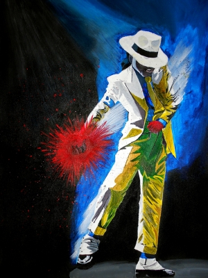 Michael Jackson Popüler Kültür Kanvas Tablo