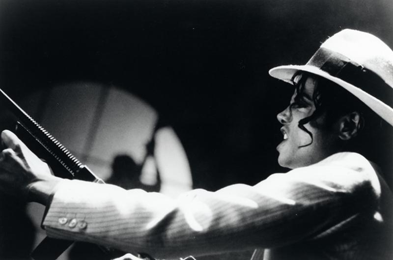 Michael Jackson Siyah Beyaz Popüler Kültür Kanvas Tablo
