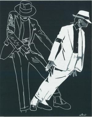 Michael Jackson Ünlü Yüzler Kanvas Tablo 10