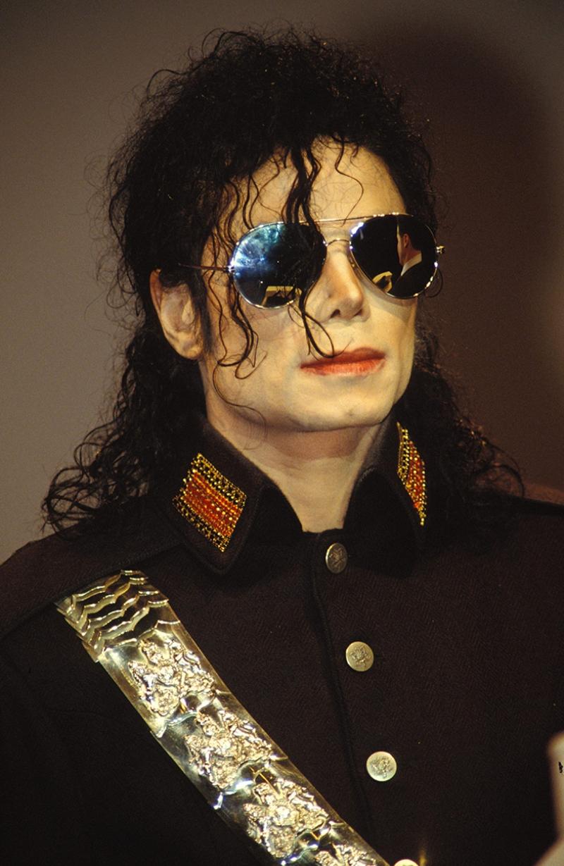 Michael Jackson Ünlü Yüzler Kanvas Tablo 11