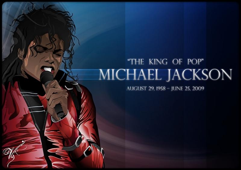 Michael Jackson Ünlü Yüzler Kanvas Tablo 3