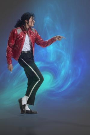 Michael Jackson Ünlü Yüzler Kanvas Tablo 7