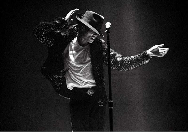 Michael Jackson Ünlü Yüzler Kanvas Tablo 8