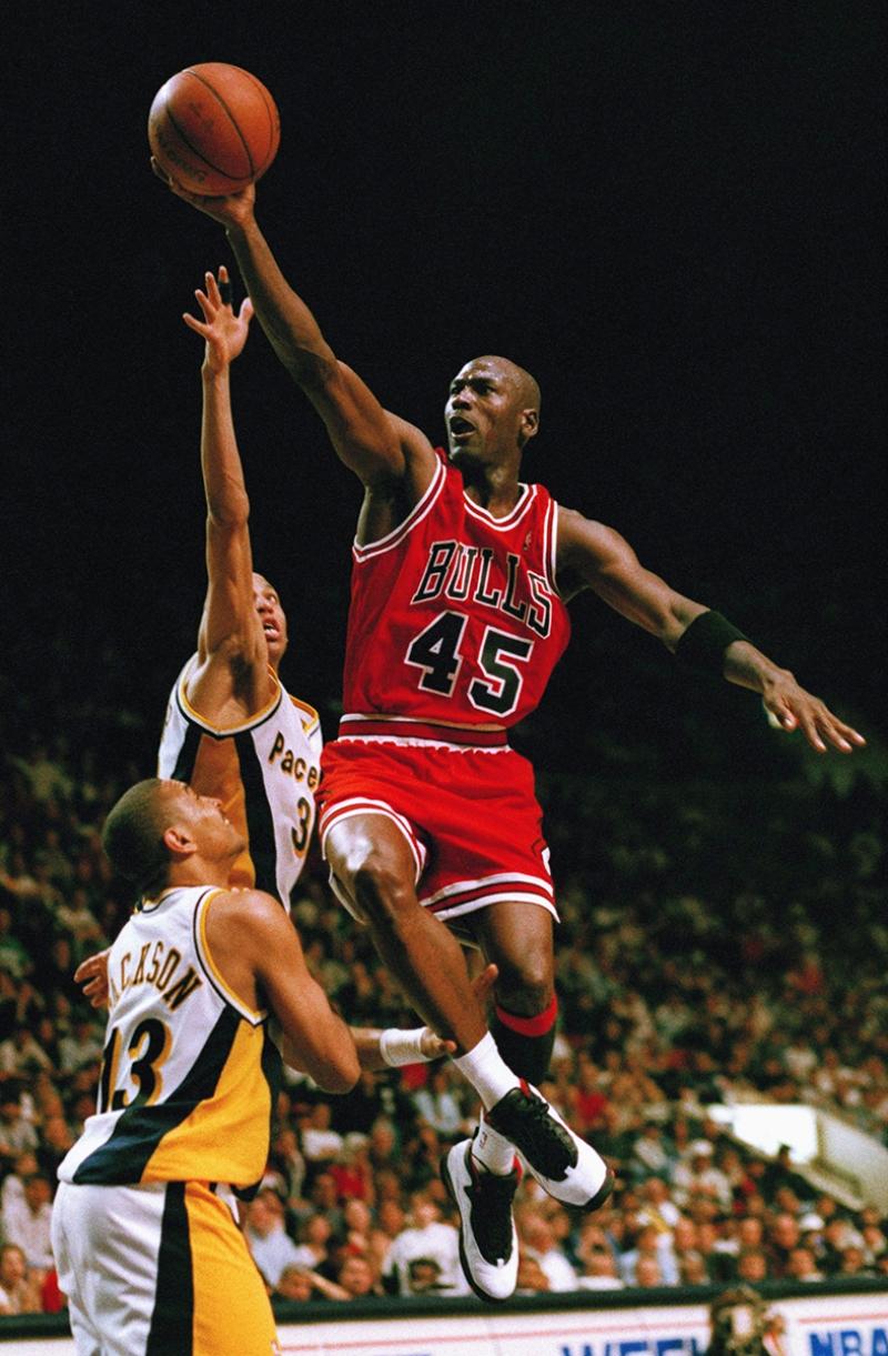 Michael Jordan Chicago Bulls-6 Kanvas Tablo