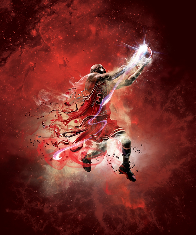 Michael Jordan Chicago Bulls-9 Kanvas Tablo