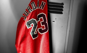 Michael Jordan Chicago Bulls Forma Kanvas Tablo
