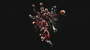 Michael Jordan Chicago Bulls Kanvas Tablo