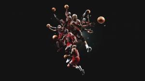 Michael Jordan Chicago Bulls Kanvas Tablo