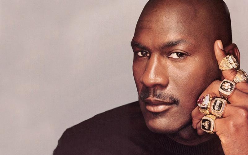 Michael Jordan Ünlü Yüzler Kanvas Tablo