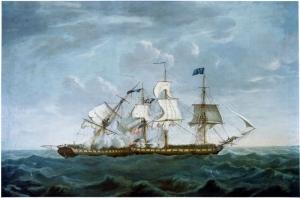 Michel Felice Corne Amerikan Donanması Yağlı Boya Klasik Sanat Kanvas Tablo