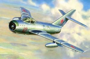 Mig 17 Rusya 1940 da Yapilmis Yagli Boya Sanat Kanvas Tablo