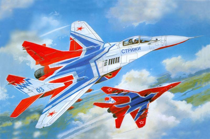 Mig 29k Rusya Savas Ucaklari 2 Yagli Boya Sanat Kanvas Tablo