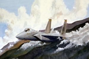 Mig 29k Rusya Savas Ucaklari 3 Yagli Boya Sanat Kanvas Tablo
