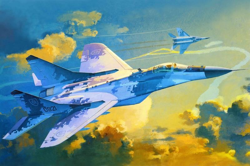 Mig 29k Rusya Savas Ucaklari Yagli Boya Sanat Kanvas Tablo