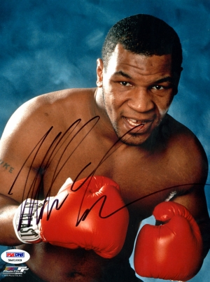 Mike Tyson Eldivenli Poz Boks Spor Kanvas Tablo