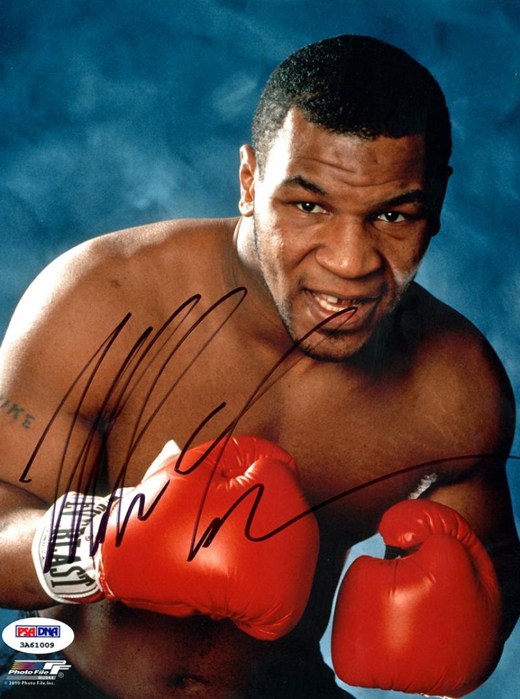 Mike Tyson Eldivenli Poz Boks Spor Kanvas Tablo