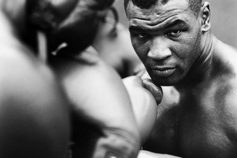 Mike Tyson Maça Hazırlık Boks Spor Kanvas Tablo