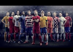 Milli Takım Oyuncuları Nike Sponsor Kanvas Tablo