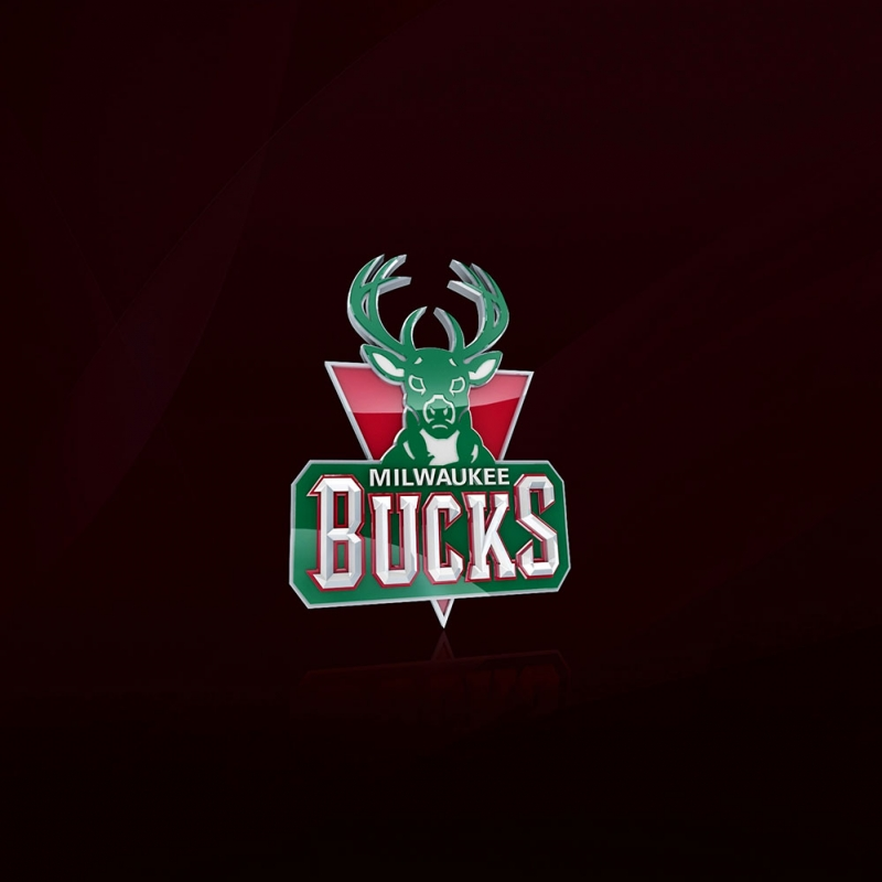 Milwaukee Bucks Nba Basketbol Logo Kare Kanvas Tablo