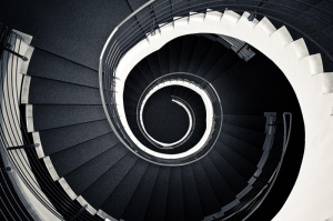 Mimari Merdivenler 2 Fotoğraf Kanvas Tablo