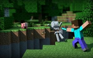 Minecraft Popüler Kültür Kanvas Tablo