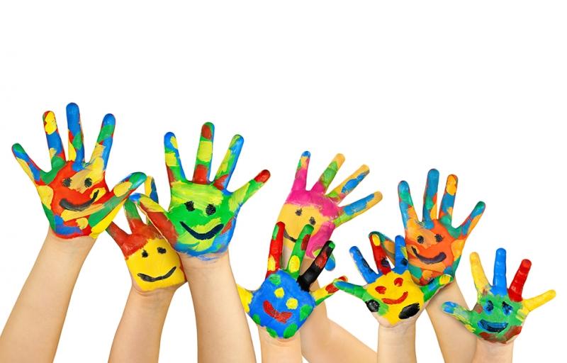 Minik Eller Bebek & Çocuk Dünyası Kanvas Tablo
