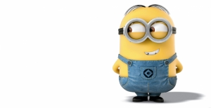 Minion Sinema Kanvas Tablo