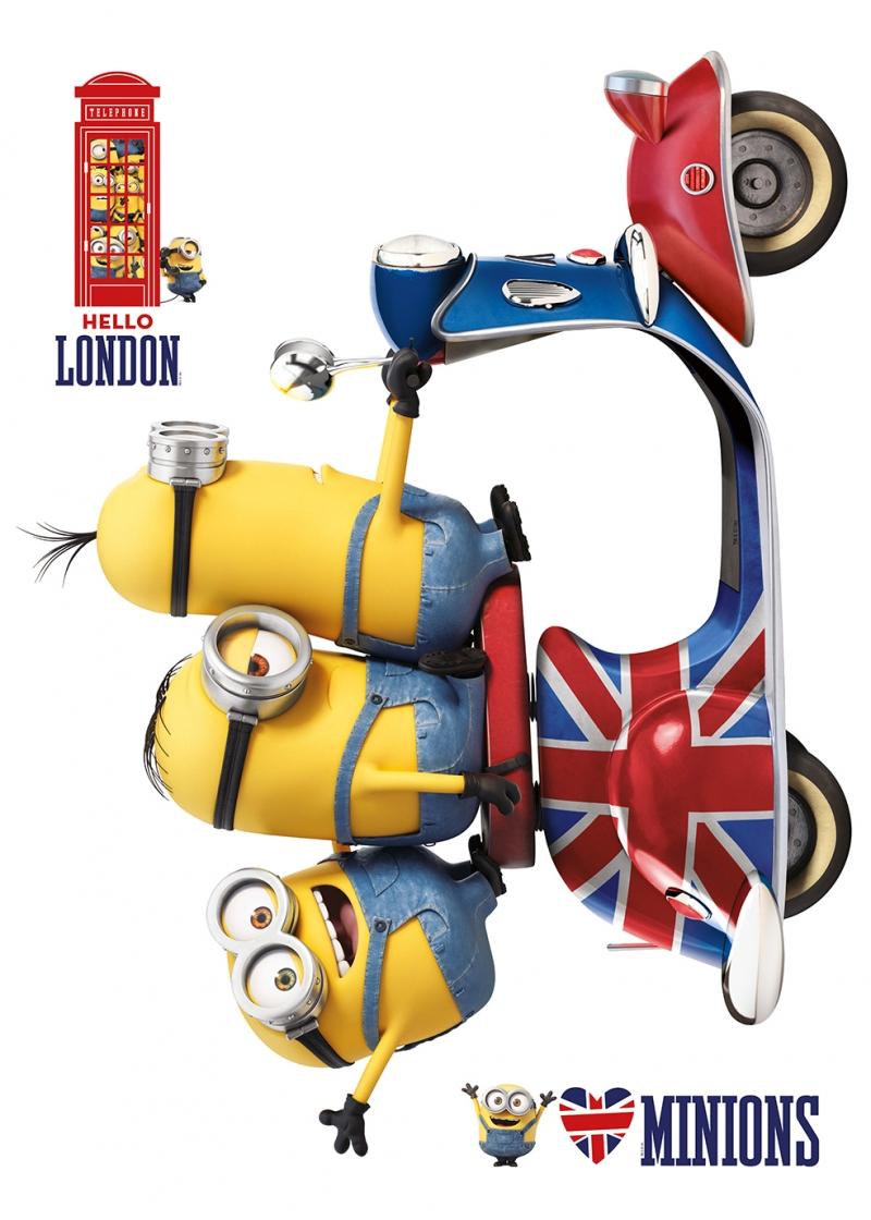Minions Londra Bebek & Çocuk Dünyası Kanvas Tablo