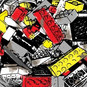 Mixed Media Abstract Soyut-3 Kanvas Tablo