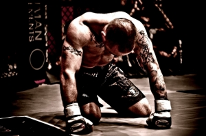 MMA Dövüş Sporları Kick Boks 1 Spor Kanvas Tablo