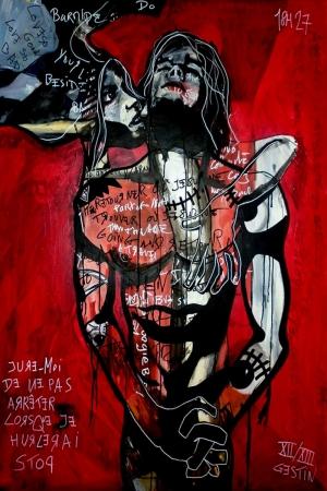 Modern Sanat Eller Kanvas Tablo