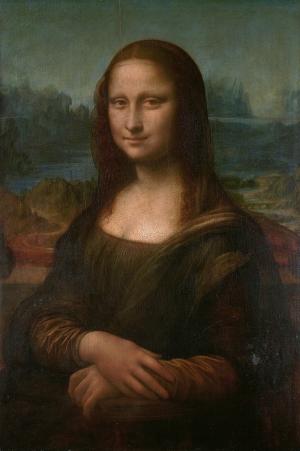 Mona Lisa By Leonardo Da Vinci Yağlı Boya Sanat Kanvas Tablo