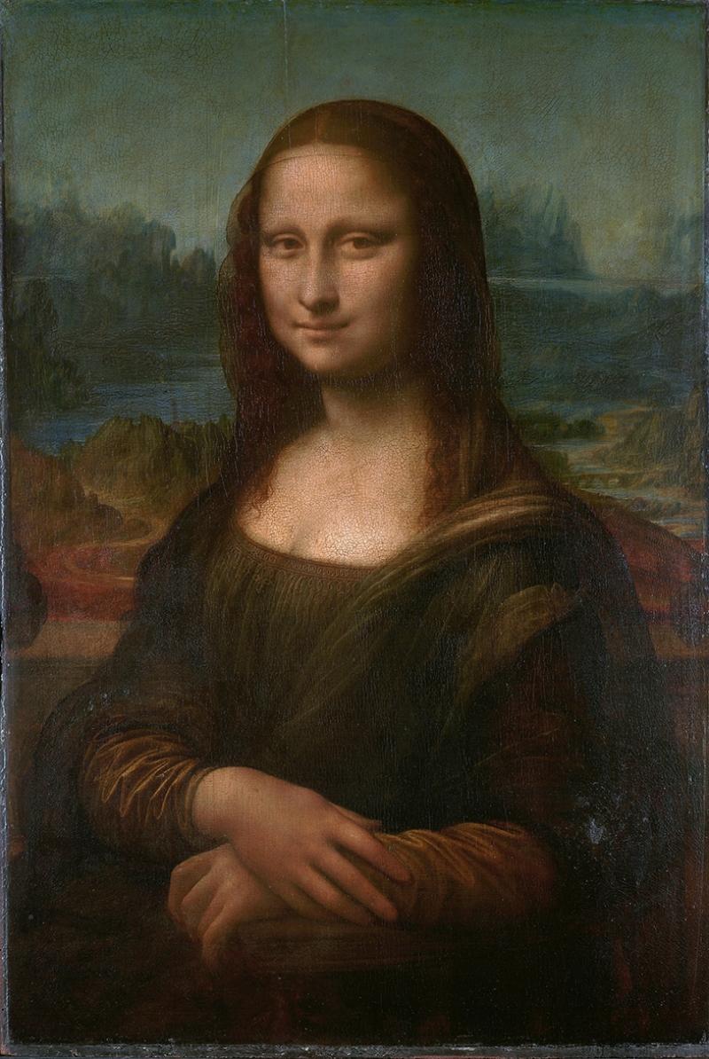 Mona Lisa Leonardo Da Vinci Ünlü Yüzler Kanvas Tablo