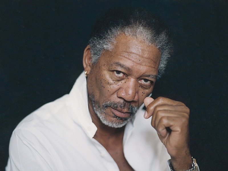 Morgan Freeman Ünlü Yüzler Kanvas Tablo
